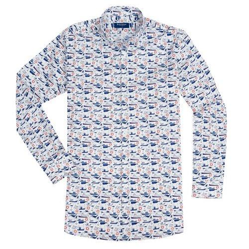 Koszula Slim Fit Whales