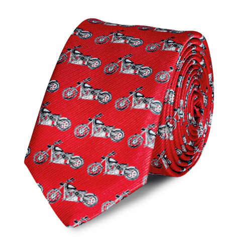 Krawat Tie or Die Harley Davidson