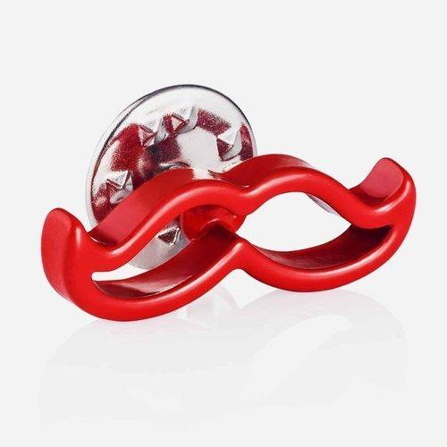 Wpinka do butonierki Red Mustache