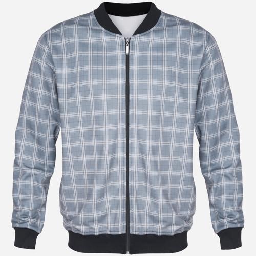 Bluza Dres Bomber Grey