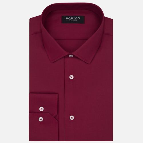Koszula Tailored Bordo