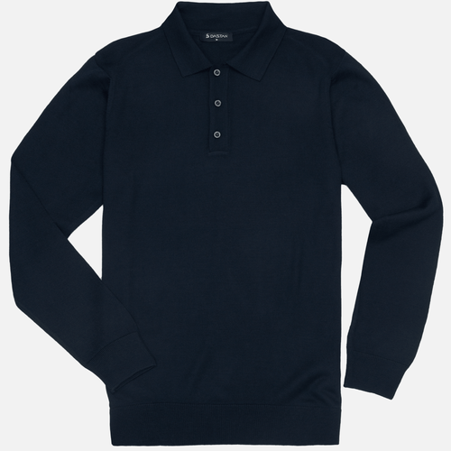 Sweter Polo Navy